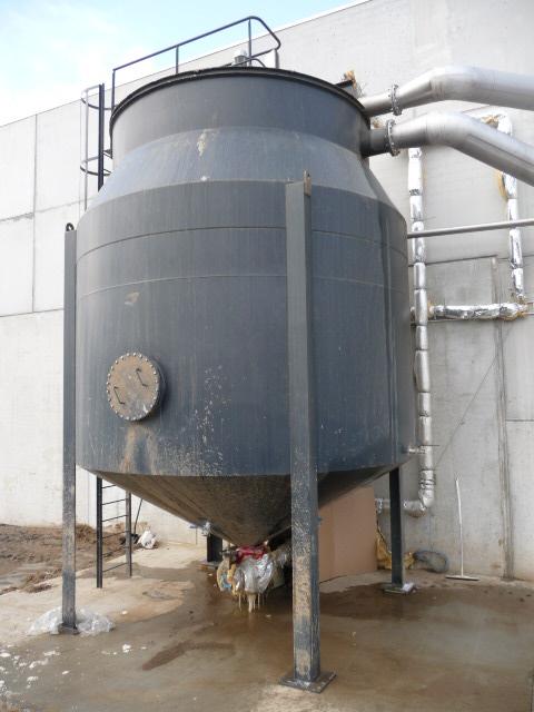 Clarificateur pour les eaux de lavage de pommes-de-terres