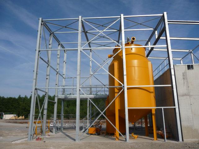 Installation clef en main d'une unité de déshydratation de carbonate
