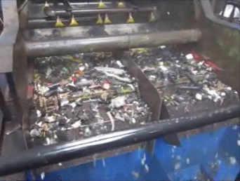 Washing of plastics