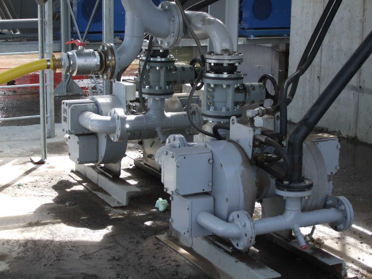 Pompe d'alimentation du filtre presse